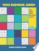 1000 Sudokus Juego - Fácil - Medio - Difícil - Muy Difícil - Experto