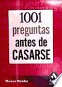 1001 PREGUNTAS ANTES DE CASARSE