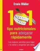 101 tips nutricionales para adelgazar rápidamente