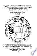 11o Congreso Internacional: Tema II (2 v.)