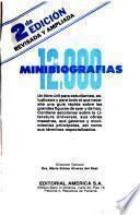 12,000 minibiografías