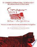 15° Congreso Internacional de Patología y Recuperación de Estructuras (Resúmenes)