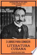 3 Libros para Conocer Literatura Cubana