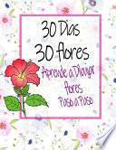 30 Dias 30 flores Aprende a Dibujar flores Paso a Paso