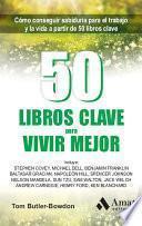 50 Libros clave para vivir mejor