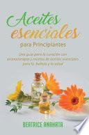 Aceites Esenciales Para Principiantes