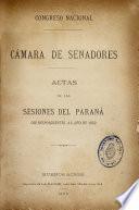 Actas de las sesiones del Paraná correspondientes al año ...