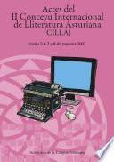 Actes del II Conceyu Internacional de Lliteratura Asturiana
