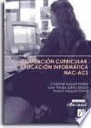 Adaptación curricular. Aplicación informática NAC-ACS