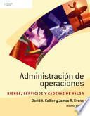 Administracion de operaciones/ Operations Management