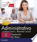 Administrativo del Instituto Foral de Bienestar Social. Diputación de Álava. Temario