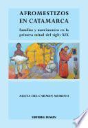 Afromestizos en Catamarca