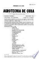 Agrotecnia de Cuba