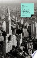 Álgebra política y otros textos de Nueva York