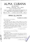 Alma cubana, publicacion mensual