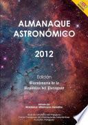 Almanaque Astronómico para el Año 2012