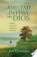 Amistad íntima con Dios