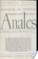 Anales de la Facultad de ciencias juridicas y sociales Vol IV
