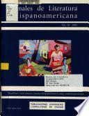 Anales de literatura hispanoamericana