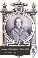 Anales De Sevilla de 1800 a 1850
