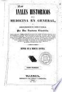 Anales históricos de la medicina en general y biográfico-bibliográficos de la española en particular, 3