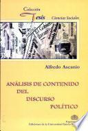 Análisis del contenido del discurso político