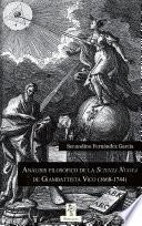 Análisis filosófico de la Scienza Nuova de Giambattista Vico (1668-1744)