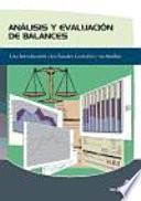 Análisis y evaluación de balances