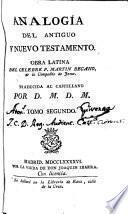 Analogía del Antiguo Testamento y Nuevo Testamento