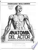 Anatomía del actor