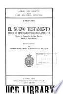 Anejos del Boletín de la Real Academia Española