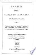 Annales del reyno de Navarra por J. de Moret y F. de Alesón