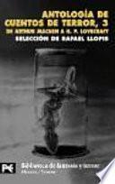 Antología de cuentos de terror, 3