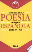 Antología de la poesía en lengua española