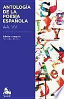 Antología de la poesía española (Austral Educación)