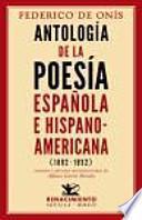 Antología de la poesía española e hispanoamericana (1882-1932)
