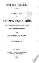 Antología española, 2