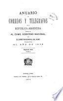 Anuario de correos y telégrafos de la República Argentina