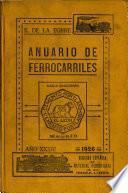 Anuario de ferrocarriles españoles ...