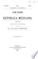 Anuario estadistíco de la República Mexicana