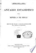 Anuario estadistico de la Republica oriental del Uruguay