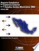 Anuario estadístico del comercio exterior de los Estados Unidos Mexicanos 2004. Importación en pesos