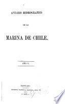 Anuario hidrografíco de la Marina de Chile