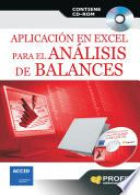 Aplicación en Excel para el análisis de balances