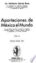 Aportaciones de México al mundo