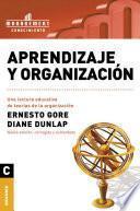 Aprendizaje y organición