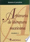 Arbitrario de literatura mexicana