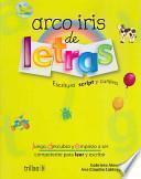 Arco iris de letras