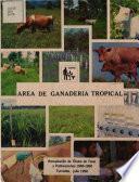 Area de Ganaderia Tropical
