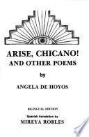 Arise, Chicano! and Other Poems